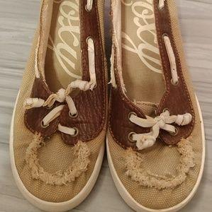 Roxy Boat Shoe Wedges